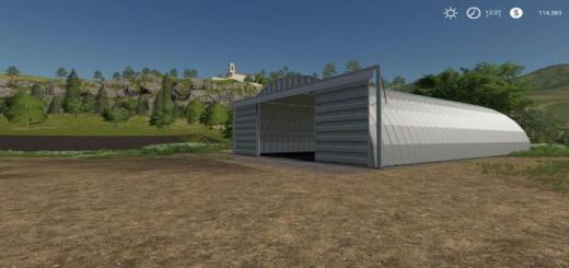 Photo of FS19 – Placeable Quonset Shed V1