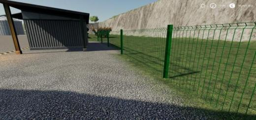 Photo of FS19 – Plain Metal Fence Can Be Placed V1