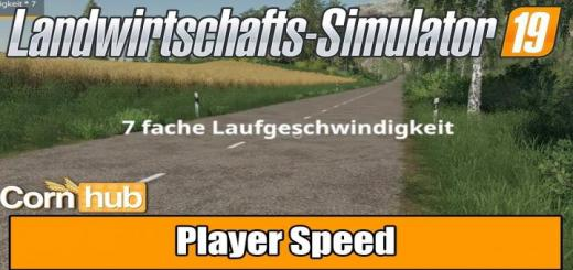 Photo of FS19 – Player Speed V1.0.1