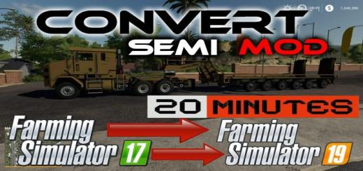 Photo of FS19 – Semi Truck Template For Modders V1
