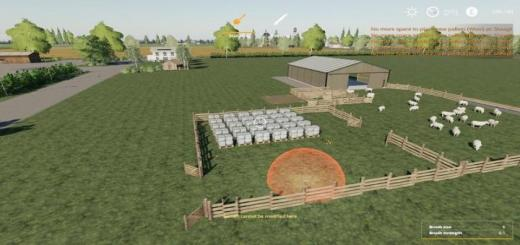 Photo of FS19 – Sheep Fold With More Pallet Space V1