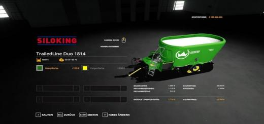 Photo of FS19 – Siloking Duo 1814 V1