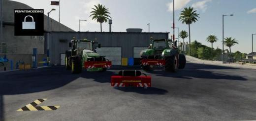 Photo of FS19 – Strautmann Concrete Weight Bj. 2013 V1