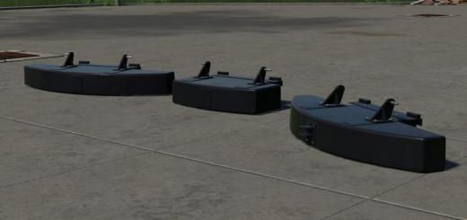 Photo of FS19 – Tenwinkel Rear Weights V1