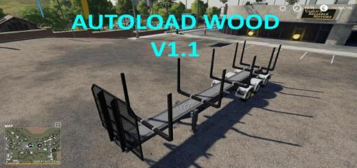 Photo of FS19 – Timber Runner Wide With Autoload Wood V1.1
