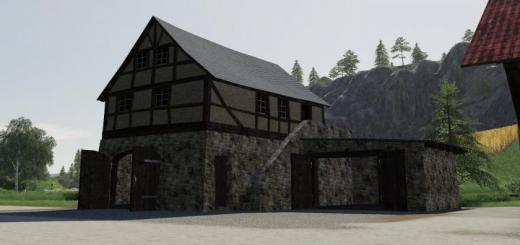 Photo of FS19 – Timberframe House With Shed V1