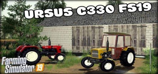 Photo of FS19 – Ursus C-330 Tractor V1