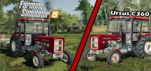 Photo of FS19 – Ursus C-360 Tractor