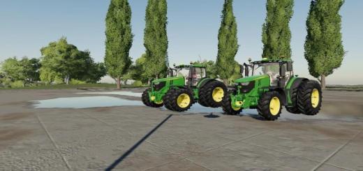 Photo of FS19 – Us John Deere Tractor Pack V1