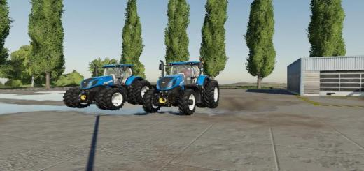 Photo of FS19 – Us New Holland Tractor Pack V1