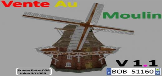 Photo of FS19 – Vente Au Moulin V1.0.0.1