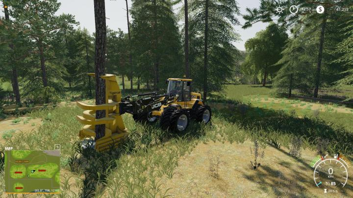 FS19 - Wheel Loader Feller Buncher V1