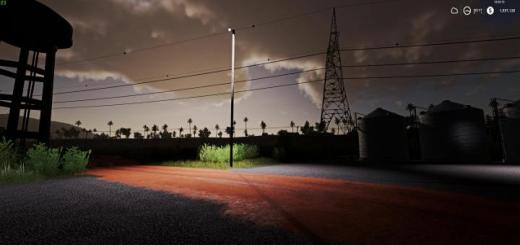 Photo of FS19 – Wooden Yard Light V1