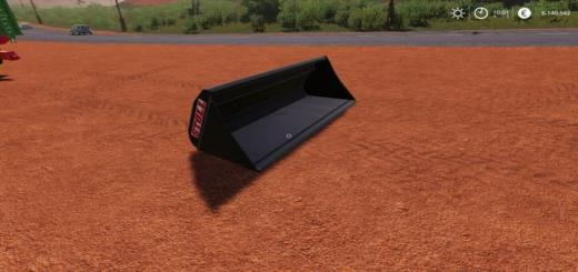 Photo of FS19 – Xxl Front Loader Bucket V1
