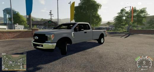 Photo of FS19 – 2017 Ford F250 Edited V3
