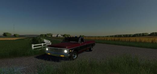 Photo of FS19 – 71 Chevy Long Bed V1
