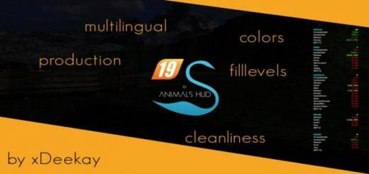 Photo of FS19 – Animals Hud V3.2