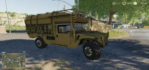 Photo of FS19 – Army Humvee V1