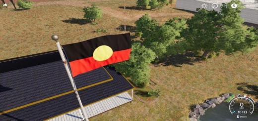 Photo of FS19 – Australian Aboriginal Flag V1