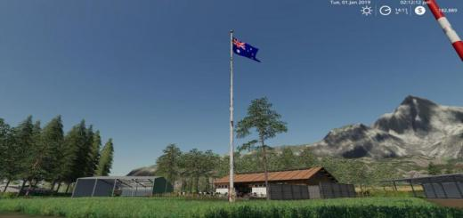 Photo of FS19 – Australian Flag V1