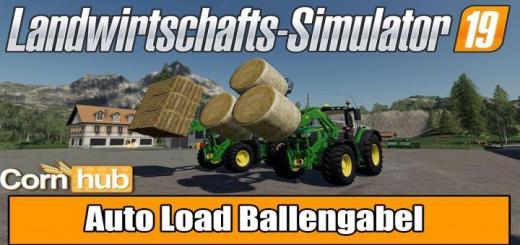 Photo of FS19 – Auto Load Ballengabel V2