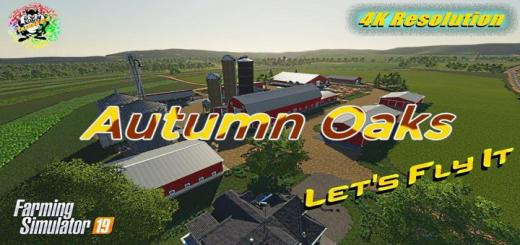 Photo of FS19 – Autumn Oaks Cows! Fixed Again Map V2