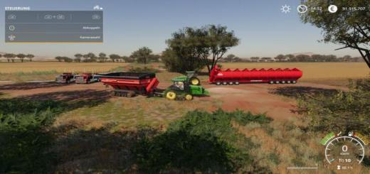 Photo of FS19 – Big Aussie Outback Map V1