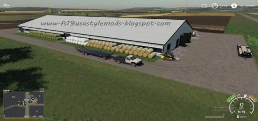 Photo of FS19 – Big Cow Shed V1