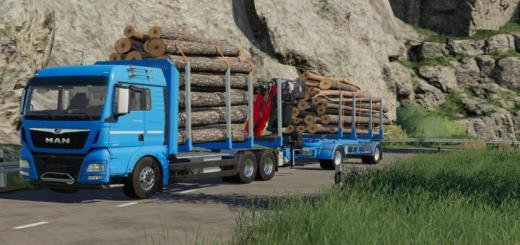 Photo of FS19 – Biobeltz Turntable Timbertrailer Ttlt 500 V1
