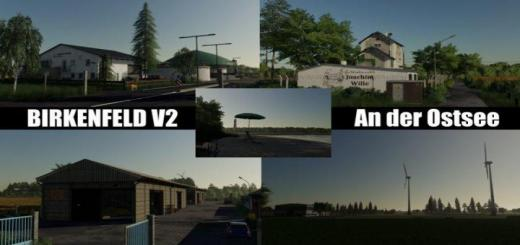 Photo of FS19 – Birkenfeld An Der Ostsee Map V2