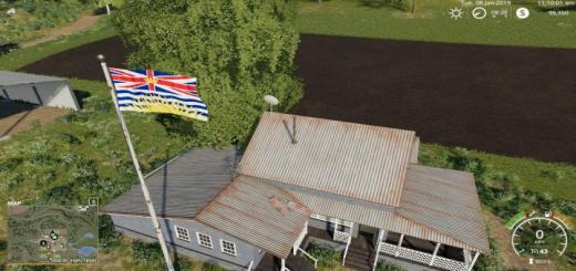 Photo of FS19 – British Columbia Flag V1