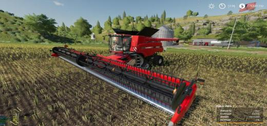 Photo of FS19 – Case Axial 9240 + Header Hubcap Edition V1