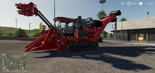 Photo of FS19 – Case Ih Suger Cane Harvester V1