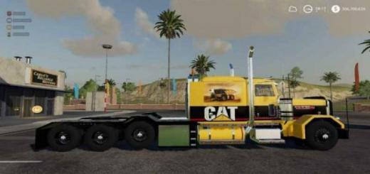 Photo of FS19 – Caterpillar Heavy Haul V0.9