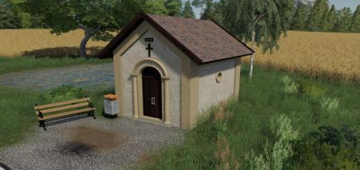 Photo of FS19 – Chapel Prefab (Prefab) V1
