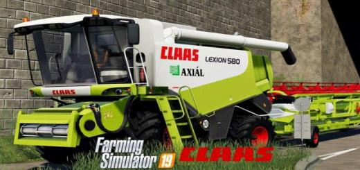 Photo of FS19 – Claas Lexion 580 V1