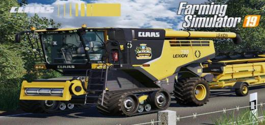 Photo of FS19 – Claas Lexion 700 Series Usa Edition V1