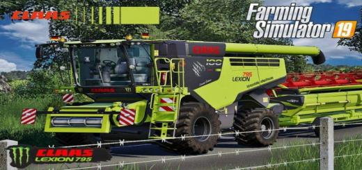 Photo of FS19 – Claas Lexion 795 Monster Limited Edition V2