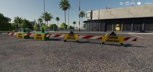 Photo of FS19 – Convoy Signs V1