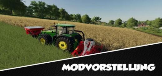 Photo of FS19 – Create Kuhn Dc 401 For Fields & Sowing V1.0.0.7