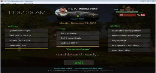 Photo of FS19 – Dashboard V1.3