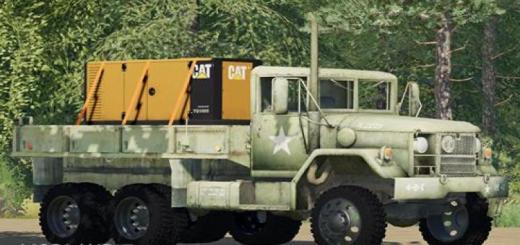 Photo of FS19 – Deuce Flatbed Truck V1