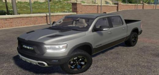 Photo of FS19 – Dodge Ram 1500 Rebel V1