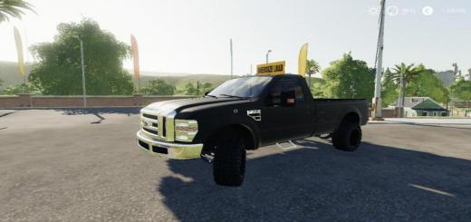 Photo of FS19 – Dodge Rebel With Oversize Load Sign V1