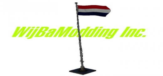 Photo of FS19 – Dutch Flag V1