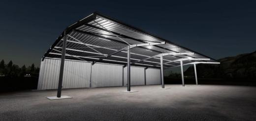 Photo of FS19 – Easy Shed Pack With Light V1