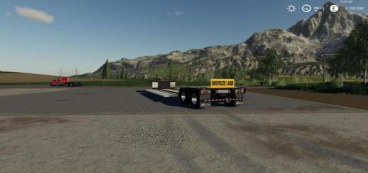 Photo of FS19 – Edit Of Cm\'s Lowboy V1