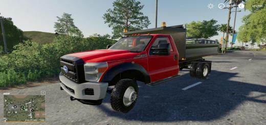 Photo of FS19 – F550 Dump Truck V1