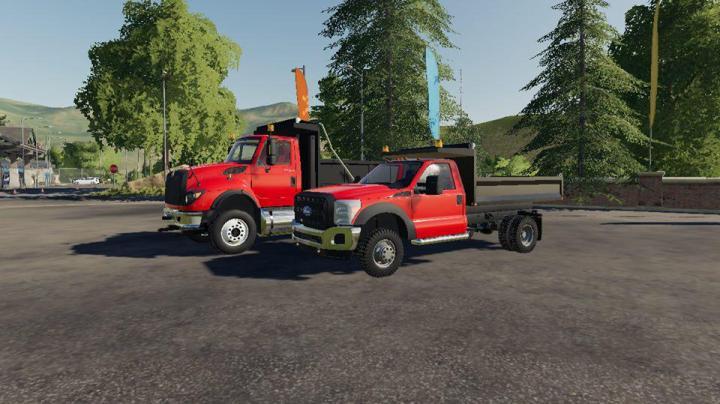 FS19 - F550 Dump Truck With Cat Idk Probally Final