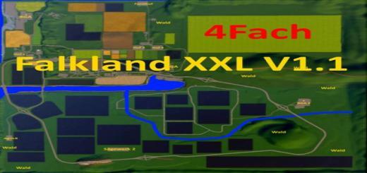 Photo of FS19 – Falkland Xxl Map V1.1